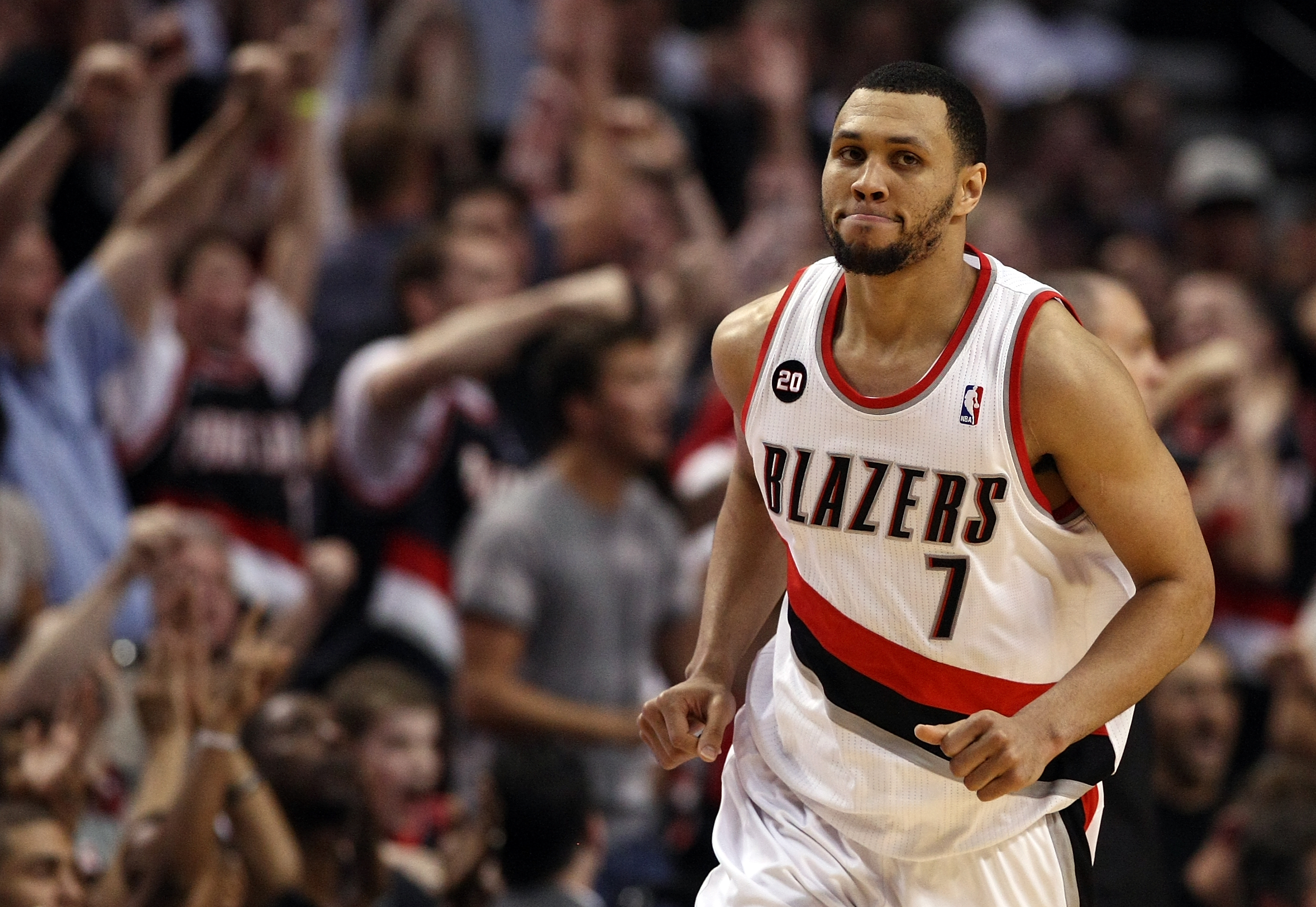 Brandon Roy shot, Brandon Roy, Brandon Roy injury
