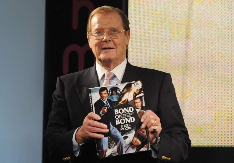 Roger Moore, Roger Moore James Bond, Roger Moore 2012