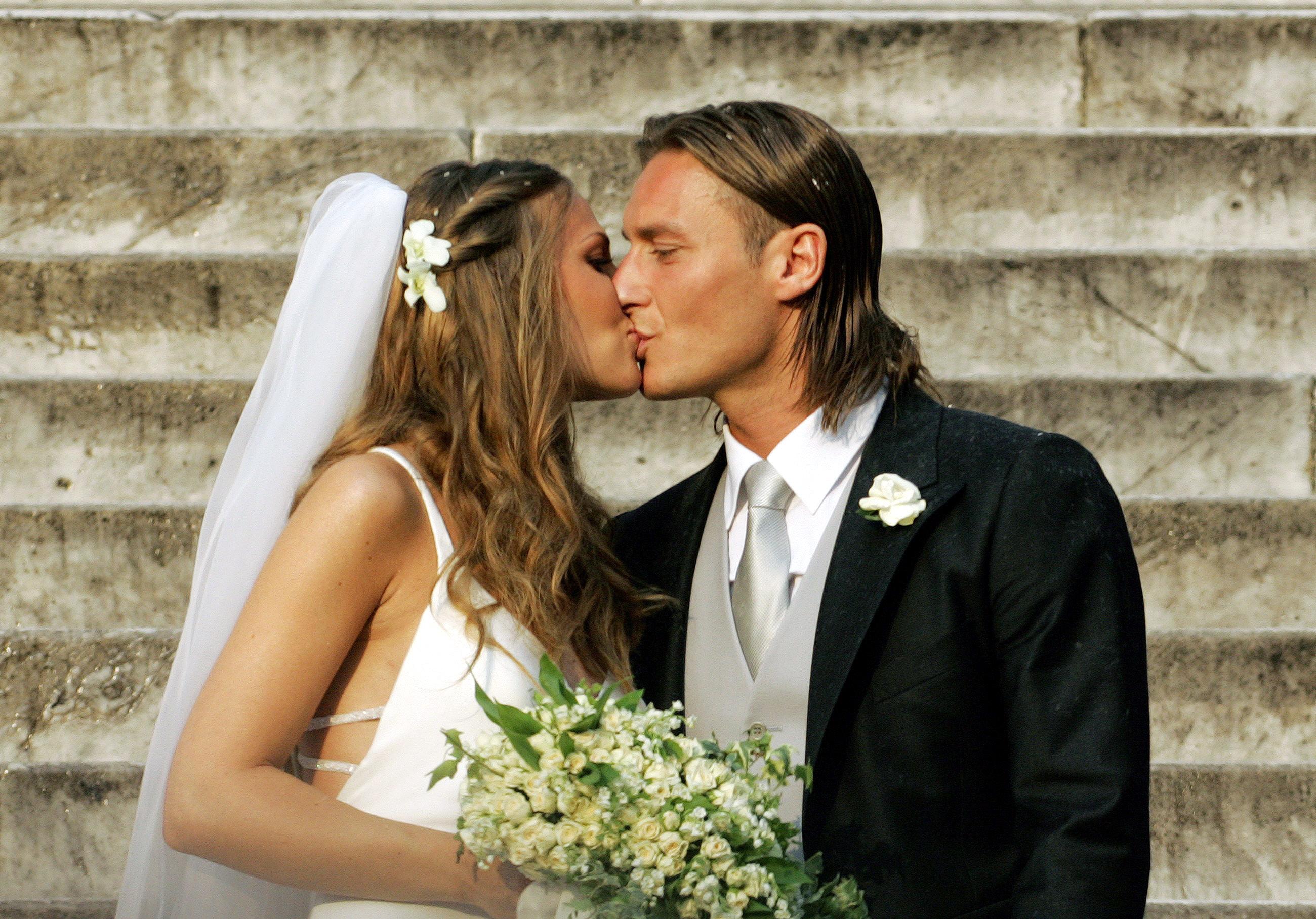 Francesco Totti Wedding