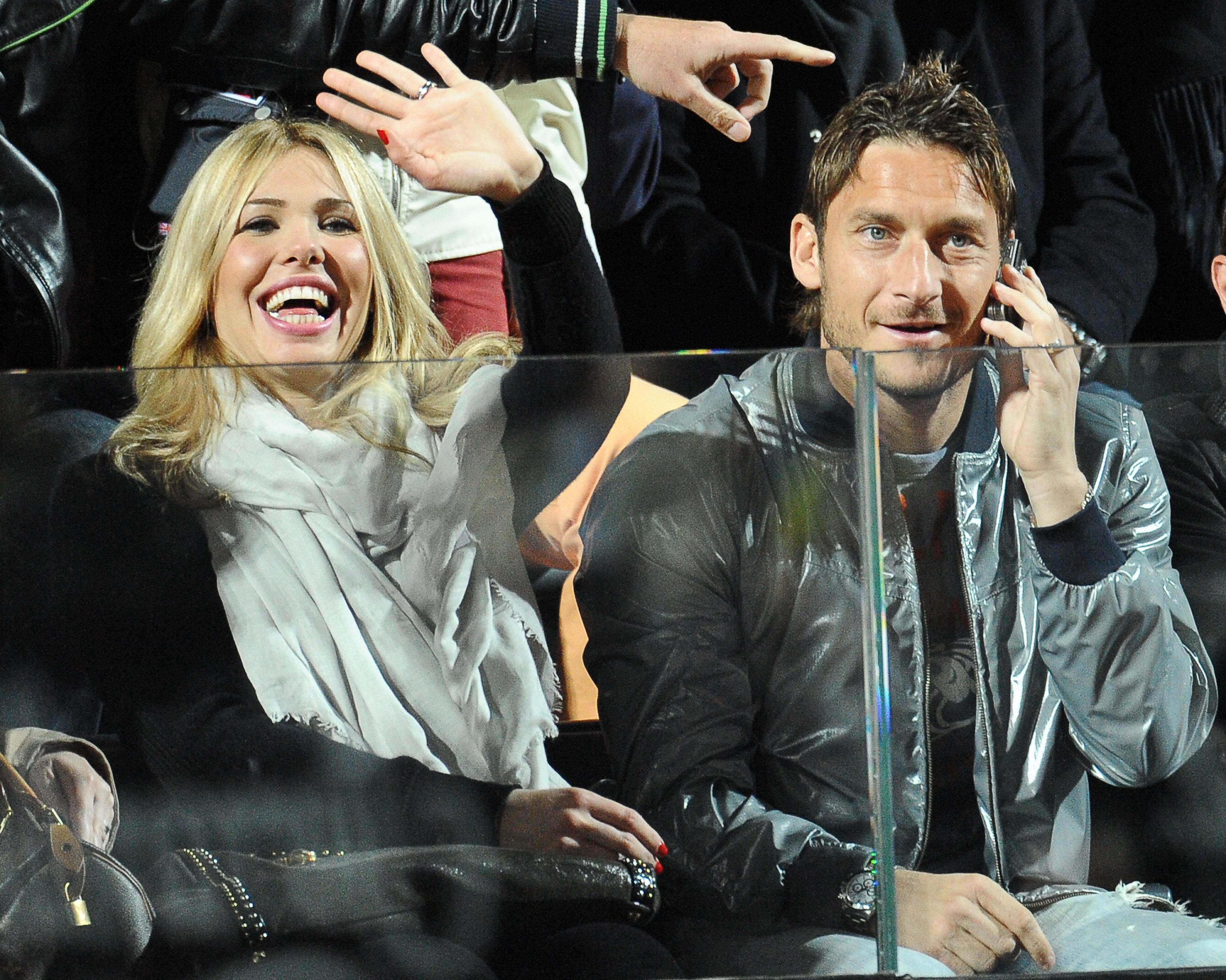 Ilary Blasi, Francesco Totti's Wife