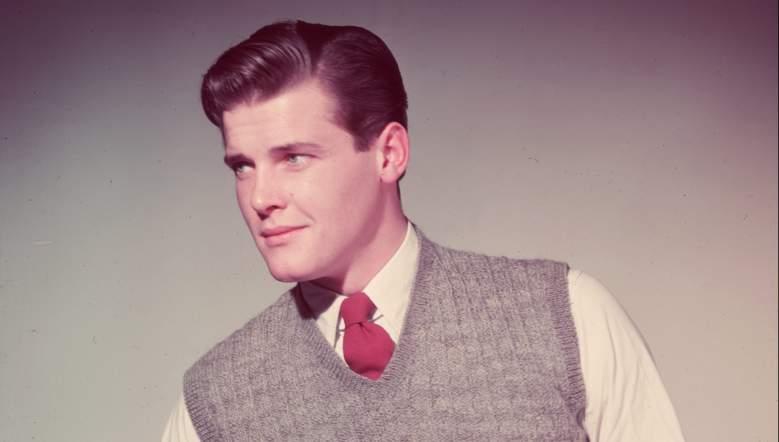 Roger Moore 1955, Roger Moore dead, Doorn Van Steyne, Roger Moore first wife