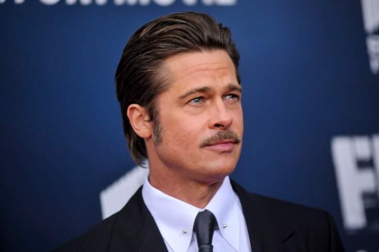 Brad Pitt at 'The Fury' premiere
