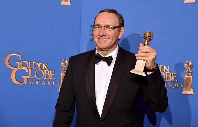 Kevin Spacey golden globes, Kevin Spacey golden globe awards, Kevin Spacey golden globes 2015