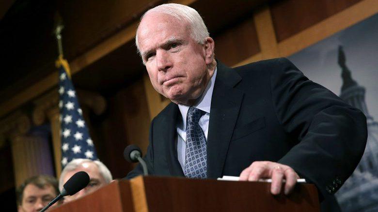 John McCain senile, John McCain age, John McCain Comey