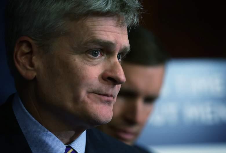 Bill Cassidy press conference, Bill Cassidy senator, Bill Cassidy Louisiana