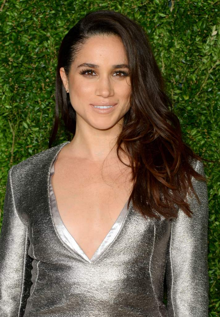 Meghan Markle at the Vogue Fashion Fund Awards