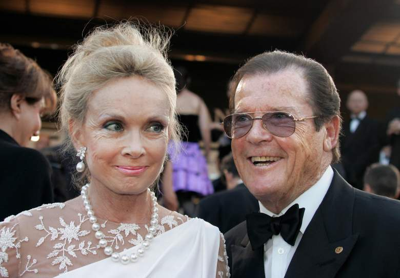 Kristina Tholstrup, Kristina Tholstrup Roger Moore, Roger Moore wife