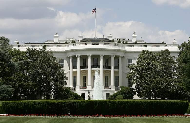 White House, White House exterior, White House outside