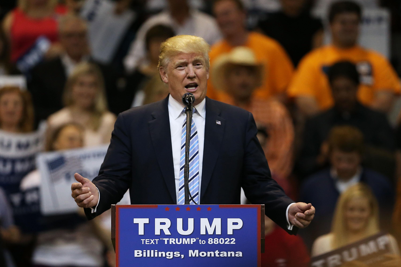 Greg Gianforte Donald Trump, Donald Trump Montana, Greg Gianforte endorsements