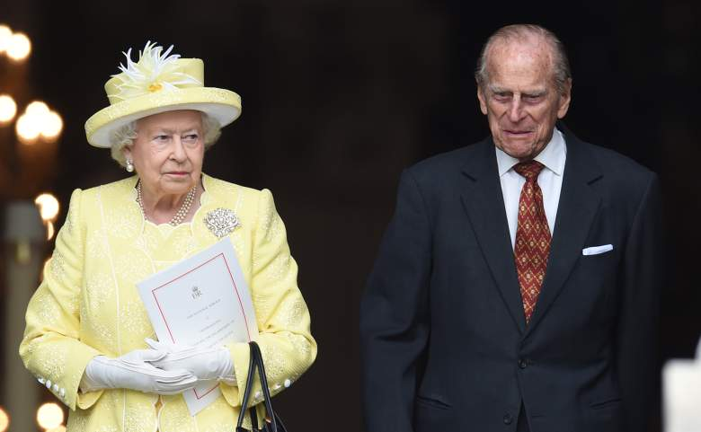 Prince Philip in 2016