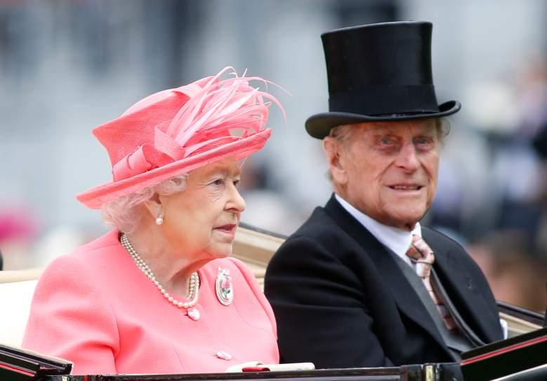 Prince Philip at Ascot Racecourse