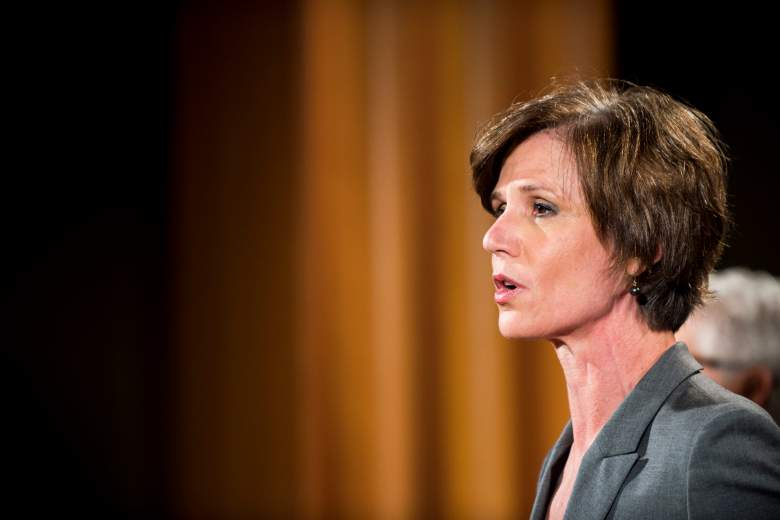 Sally Yates department of justice, Sally Yates press conference, Sally Yates 2015 press conference