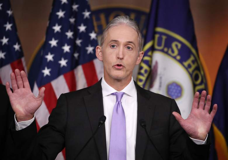 Trey Gowdy press conference, Trey Gowdy benghazi, Trey Gowdy news conference