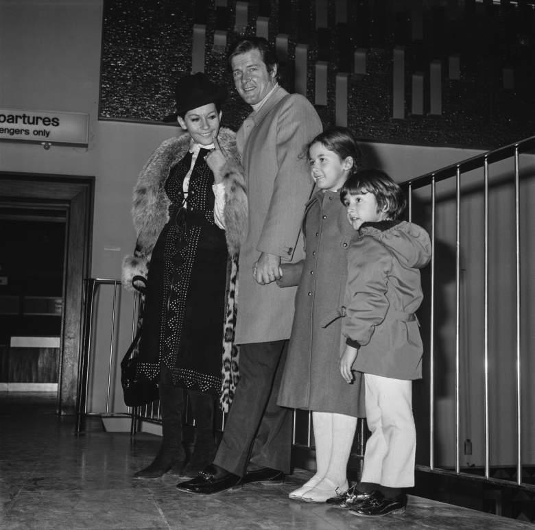 Roger Moore children, Roger Moore wife, Roger Moore wife Luisa Mattioli