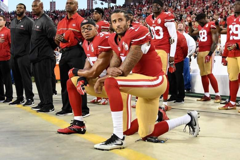Kaepernick kneel, Kaepernick protest, Kaepernick blackball