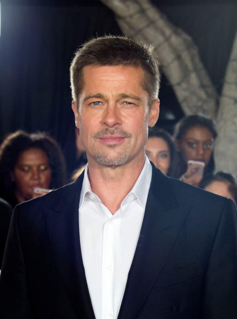 Brad Pitt at an 'Allied' fan event