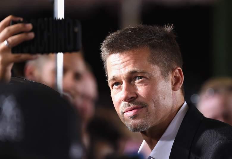 Brad Pitt at an 'Allied' event