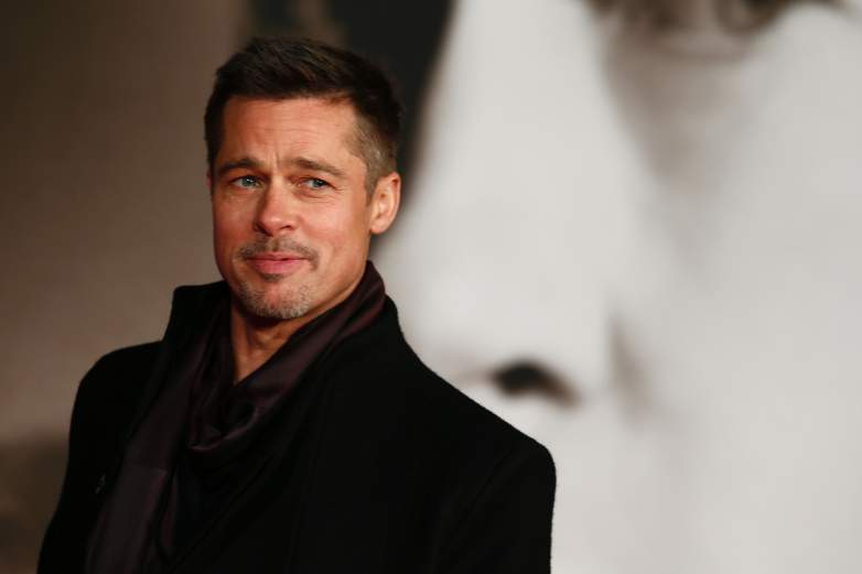Brad Pitt at the 'Allied' premiere