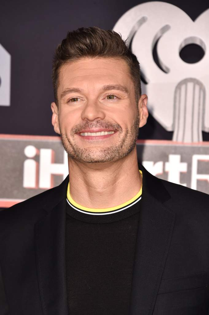 Ryan Seacrest at the iHeartRadio Music Awards