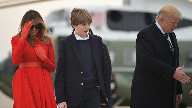 Barron Trump beheaded photo