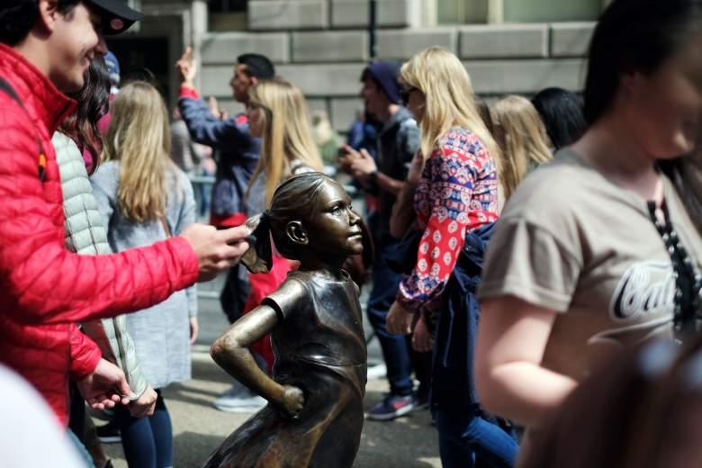 Alex Gardega, Pissing Pug artist, Fearless Girl artist, Pissing Pug statue