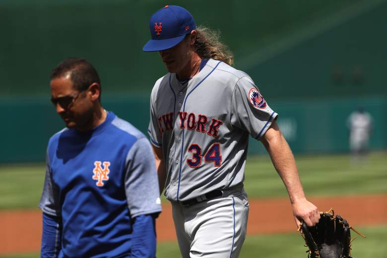 Noah Syndergaard injury, Noah Syndergaard disabled list, Noah Syndergaard lat muscle