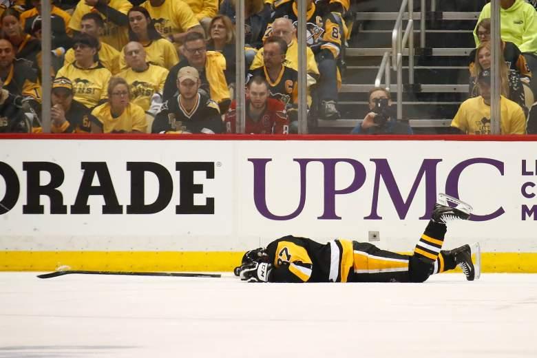 Sidney Crosby injury, Sidney Crosby concussion, Sidney Crosby cross-check