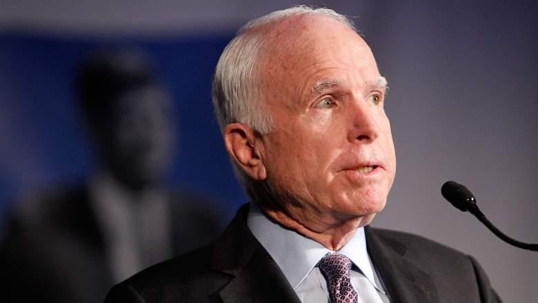 John McCain James Comey, John McCain statement, John McCain Donald Trump