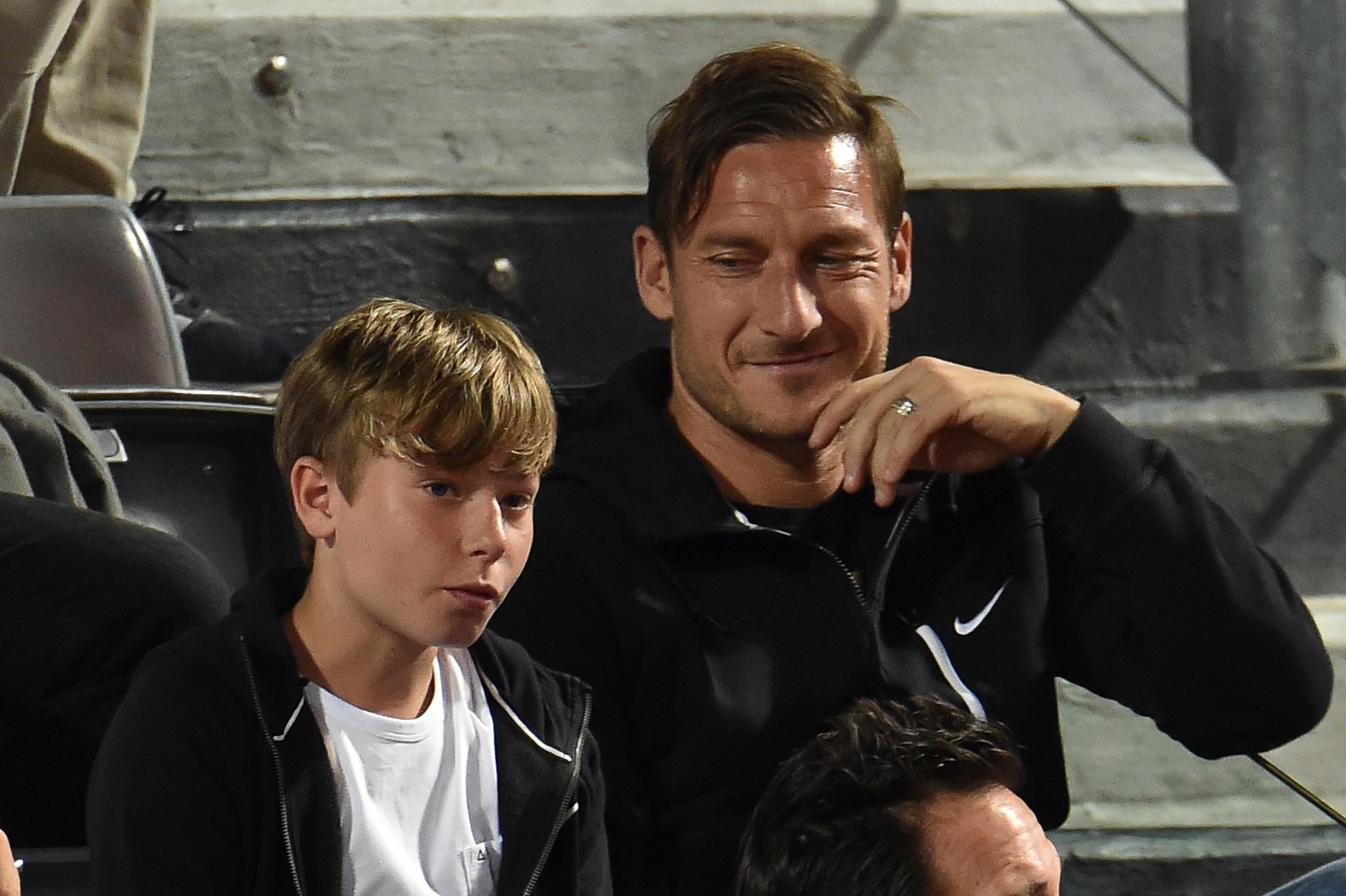 Cristian Totti, Francesco's Son