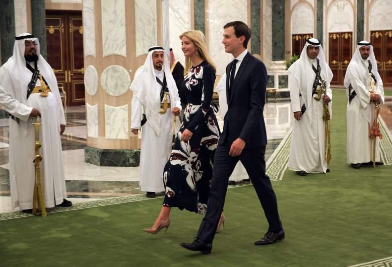 ivanka trump saudia arabia, jared kushner saudi arabia