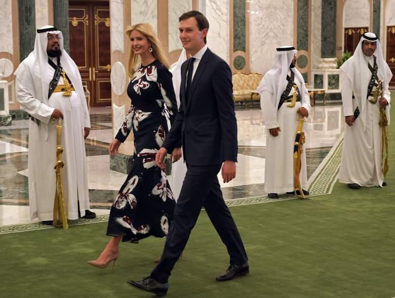 ivanka trump saudi arabia, jared kushner saudi arabia