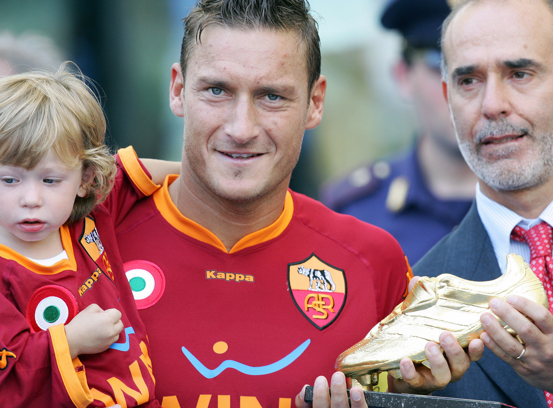 Francesco Totti's son
