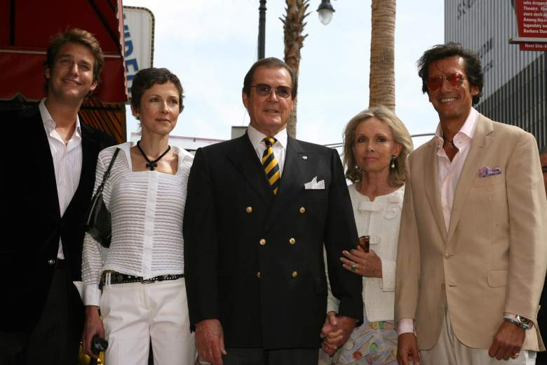 Roger Moore Children, Roger Moore Kids, Roger Moore sons and daughters
