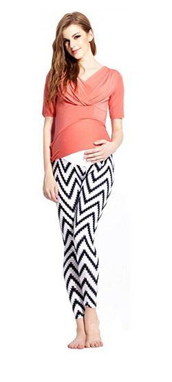 giftpocket patterned maternity leggings, maternity leggings, patterned maternity leggings, best maternity leggings