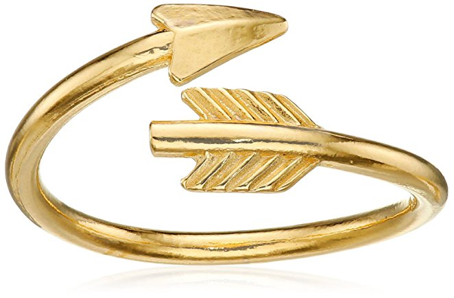 mother's day ring, mother's day jewelry, arrow ring, arrow jewelry, gold arrow