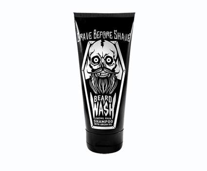 beard shampoo, beard wash, beard cleanser