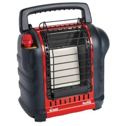 mr. heater, camping, camping essentials, portable heater