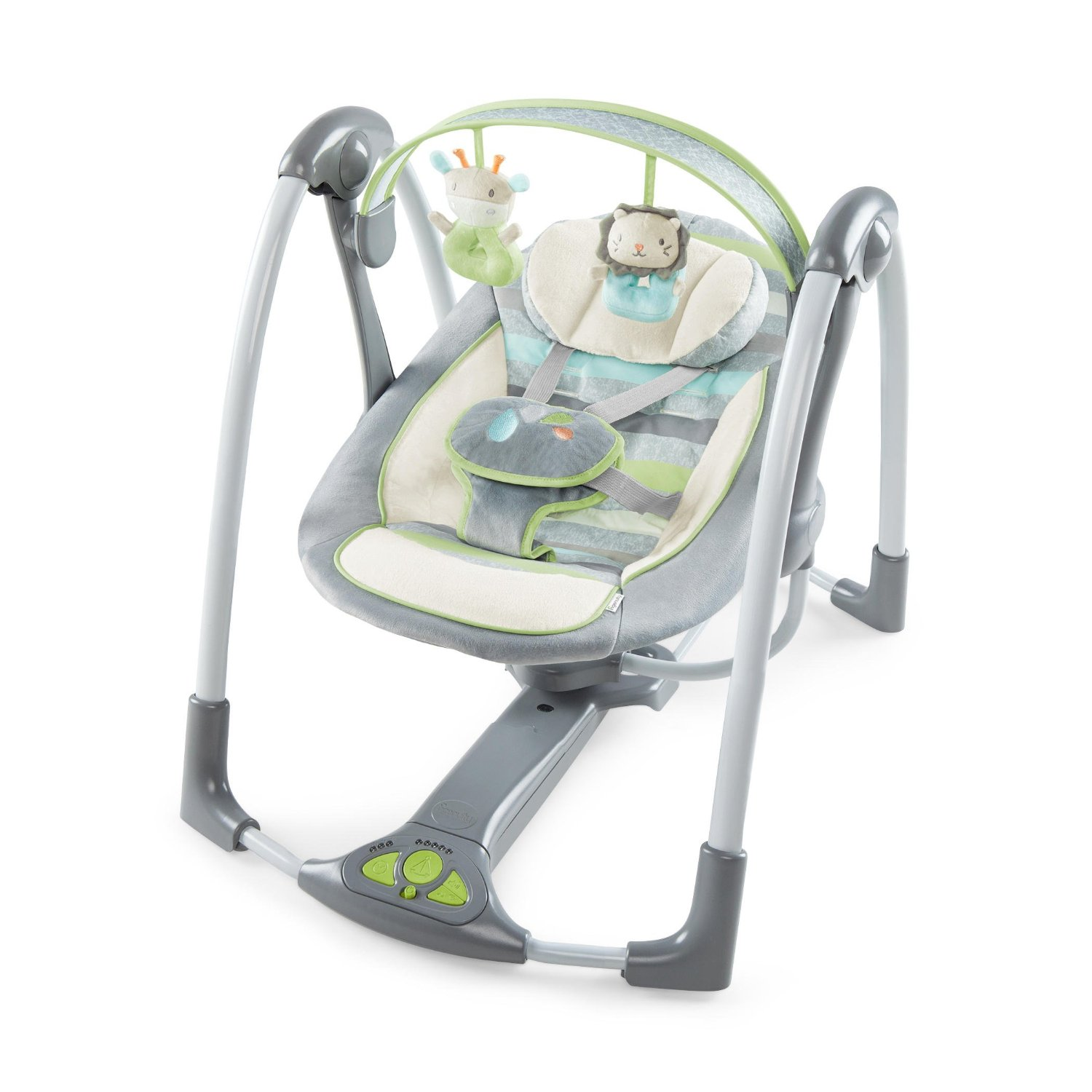 ingenuity power adapt portable swing, best baby swing
