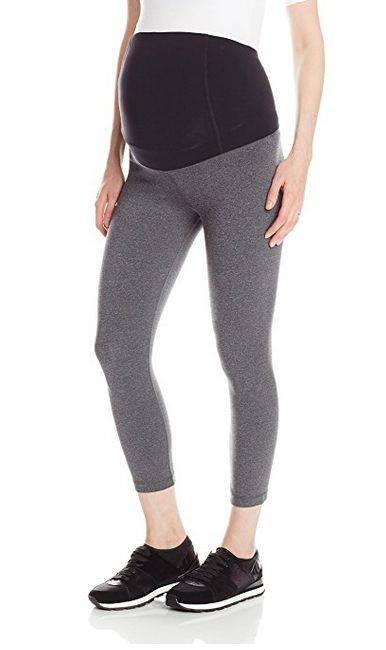 ingrid & isable active maternity capri leggings, maternity leggings, athletic maternity leggings, best maternity leggings, capri maternity leggings