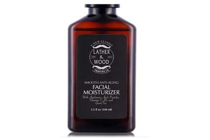 Lather & Wood Moisturizer for men