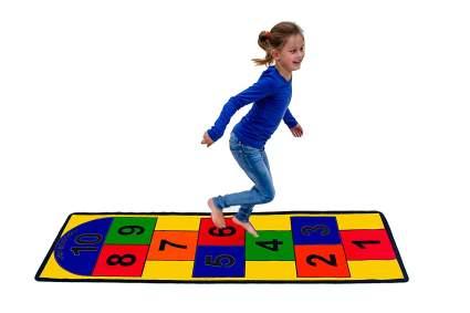 kids bedroom rugs, kids area rugs, hopscotch rug