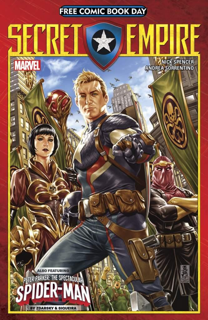 Marvel Free Comic Book Day, Marvel Secret Empire, Marvel FCBD