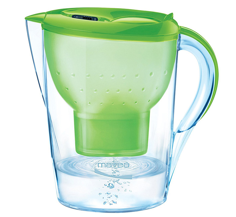 MAVEA 1009651 Marella XL 8-Cup Water Filtration Pitcher
