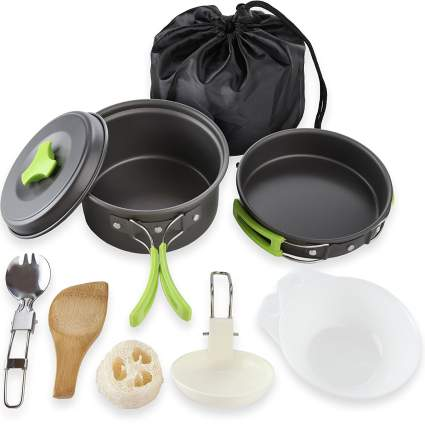 mallowme, camping, camping essentials, mess kit