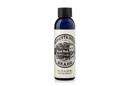 Mountaineer beard wash