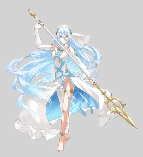 Fire Emblem Fates Azura, Fire Emblem Heroes Azura, Azura