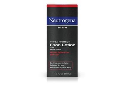 Neutrogena face cream for men
