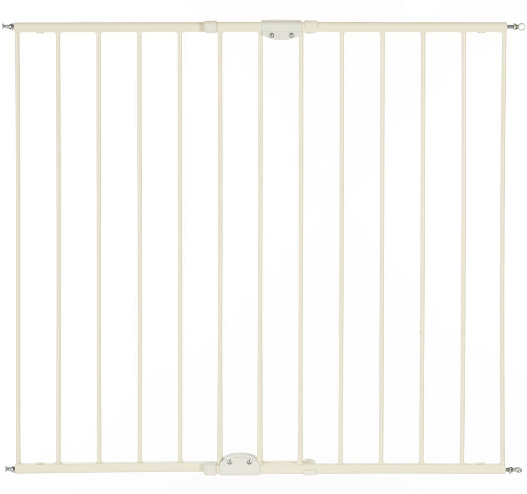 north states supergate tall easy swing & lock gate, tall safety gates, metal safety gates, best safety gates, safety gates, best baby gates for stairs, baby gates for stairs