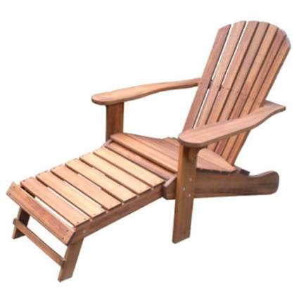 wood adirondack chairs, eucalyptus chair, adirondack chair ottoman