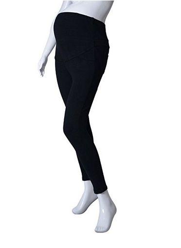 pinksee casual cotton elastic maternity leggings, maternity leggings, maternity jeggings, best maternity leggings